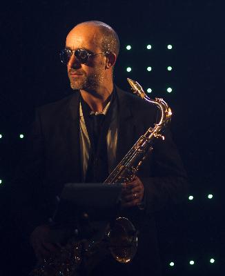 Modern saxo et Dj
